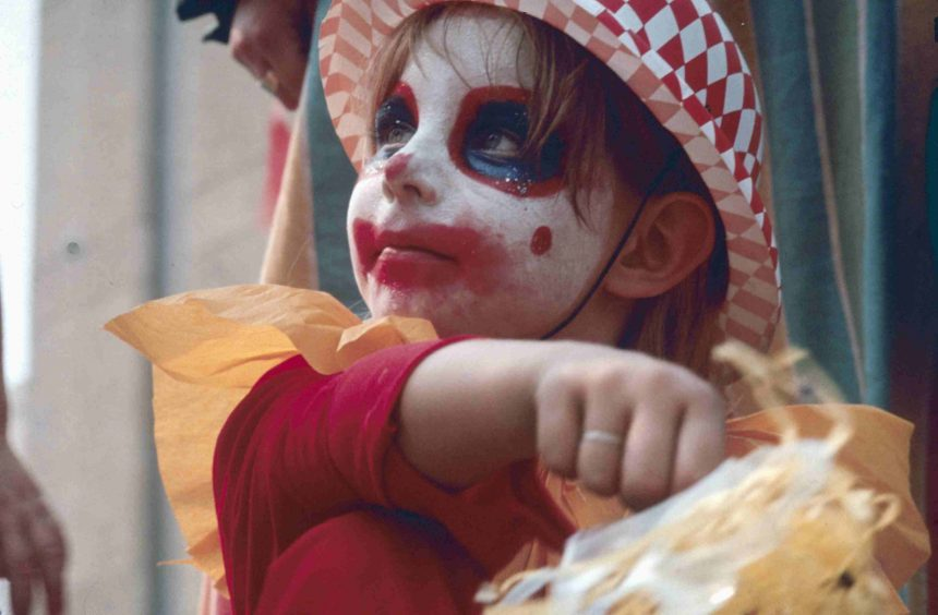 face painted child-more bonkers events