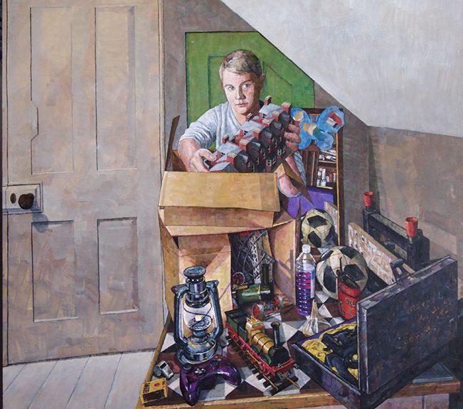Art Works: Exhibition of paintings by local artist Tom Elliott