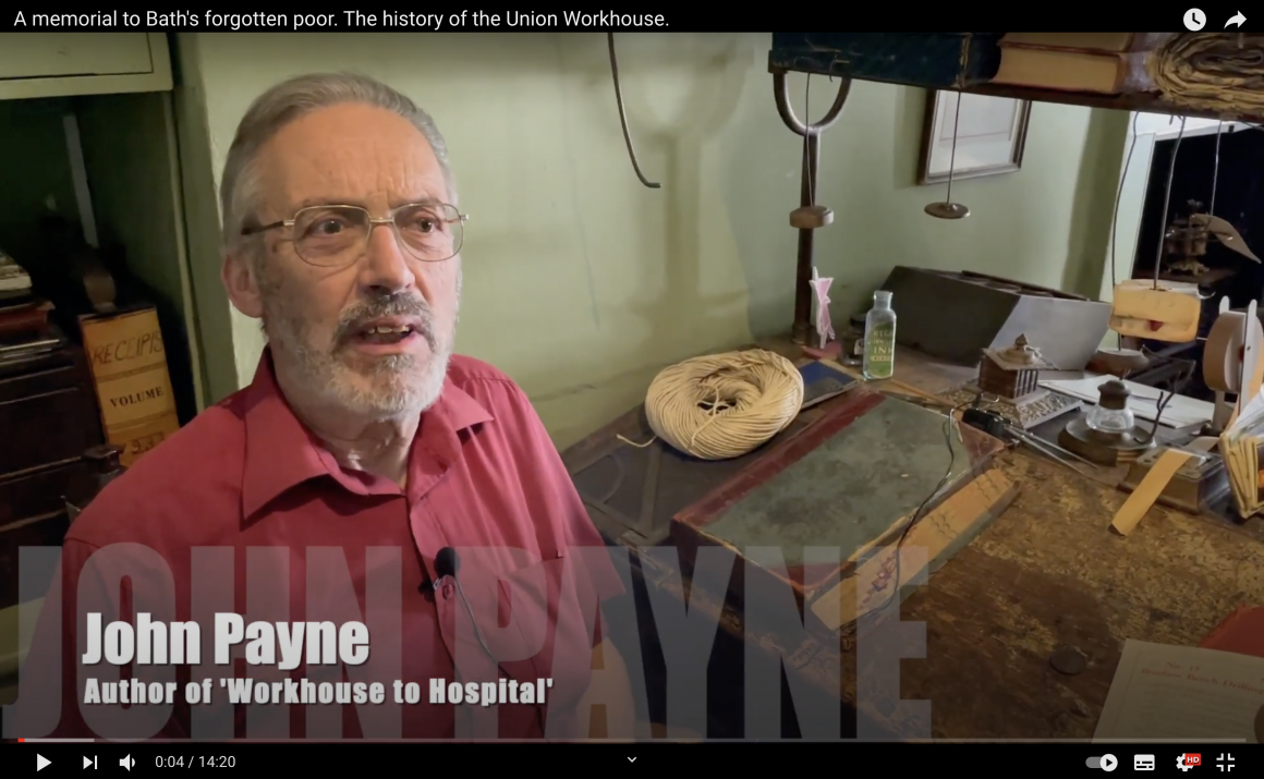 Video interview: A memorial to Bath's forgotten poor, the history of the Union Workhouse